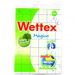 WETTEX - WETTEX PANNO Magico 3pz - a soli 1,80€ su FESEA online - fesea.shop