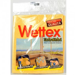 WETTEX - WETTEX PANNO SCAMOSCIATO SINTETICO Extra VETRI - a soli 2,20€ su FESEA online - fesea.shop