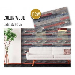 Plastonda decor COLOR WOOD (8024) PANNELLO DECORATIVO cm 50x100