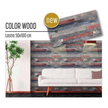 Plastonda decor COLOR WOOD (8024) PANNELLO DECORATIVO cm 50x100