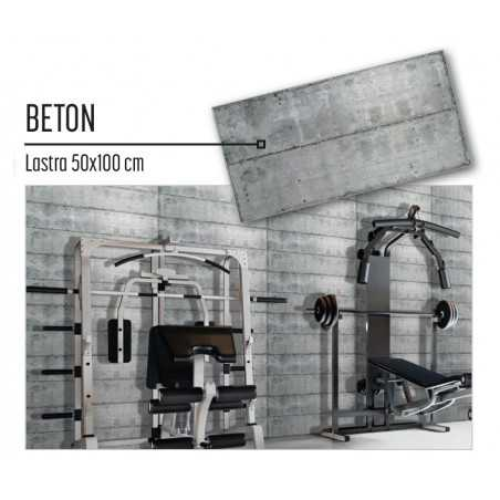 Plastonda decor BETON (8026) PANNELLO DECORATIVO cm 50x100