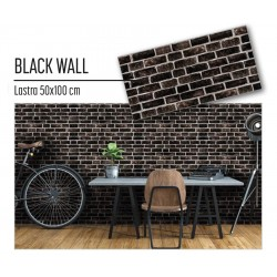 Plastonda decor BLACK WALL (8032) PANNELLO DECORATIVO cm 50x100