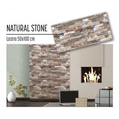 Plastonda decor NATURAL STONE (8029) PANNELLO DECORATIVO cm 50x100