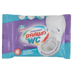 BRAWN - BRAWN SALVIETTE WC IGIENIZZANTI 6+2pz - a soli 1,20€ su FESEA online - fesea.shop