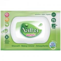 NATHA - NATHA BIO WOMAN 25 SALVIETTE STRUCCANTI ALTHEA - CAMOMILLA - TE VERDE - a soli 1,40€ su FESEA online - fesea.shop