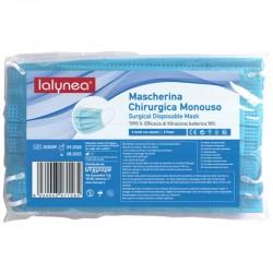 - MASCHERINA CHIRURGICA 5pz LALYNEA MONOUSO TIPO II 3 STRATI con ELASTICI - a soli 2,30€ su FESEA online - fesea.shop