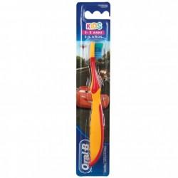 ORAL B - ORAL B SPAZZOLINO KIDS 3-5 ANNI MORBIDO CARS (Arancione e Rosso) - a soli 2,20€ su FESEA online - fesea.shop