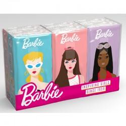 Clean Paper - FAZZOLETTI BARBIE 6pacchi da 9fazzoletti 4veli DECORATI (vari personaggi) per BAMBINI - a soli 1,20€ su FESEA ...