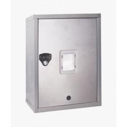 CASSETTA PER CONTATORI ACQUA E GAS 35x45cm - Prof. 25cm Sportello Reversibile e installazione VERTICALE oppure ORIZZONTALE