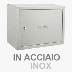 CASSETTA PER CONTATORI ACQUA 30x40cm (profonda 20cm) ACCIAIO INOX