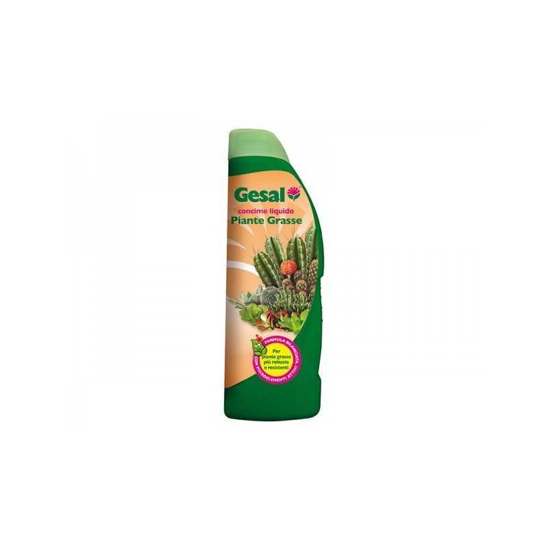 Gesal - CONCIME LIQUIDO 500ml PIANTE GRASSE NPK 5-5-7 - a soli 4,50€ su FESEA online - fesea.shop