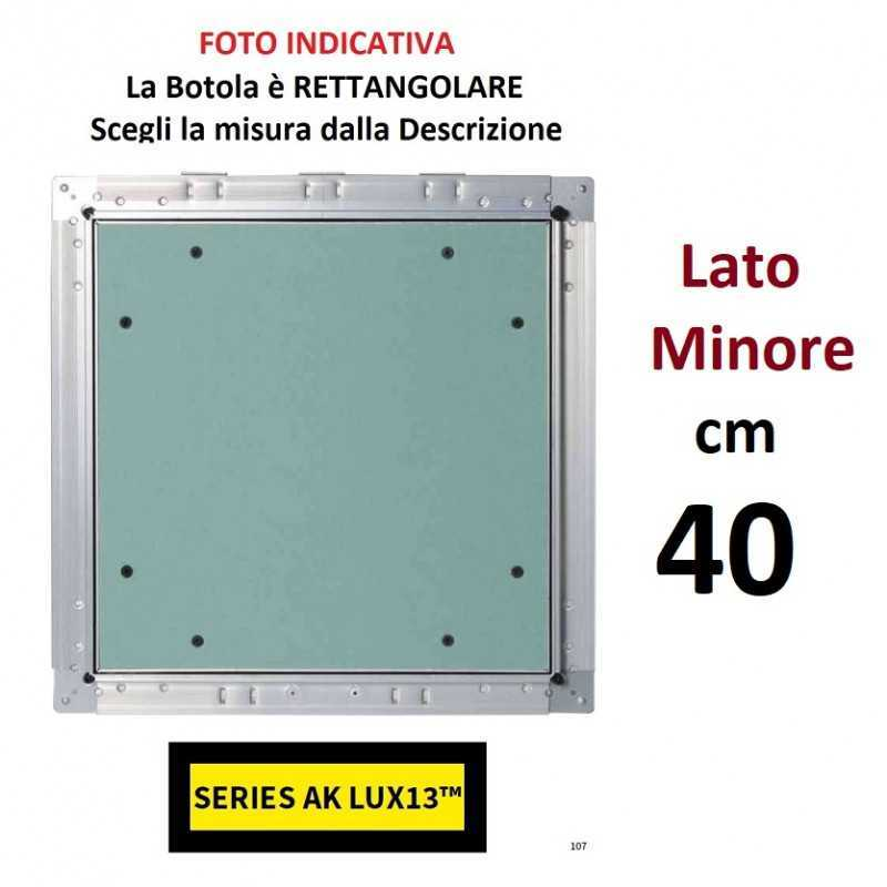 AKIFIX - BOTOLA cm 40 x 120 Serie AK Lux13 - a soli 103,40€ su FESEA online - fesea.shop