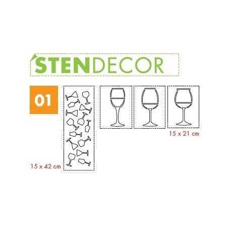 LITOKOL - STENDECOR 01 - SERIE BICCHIERI confezione 7pz - a soli 59,80€ su FESEA online - fesea.shop