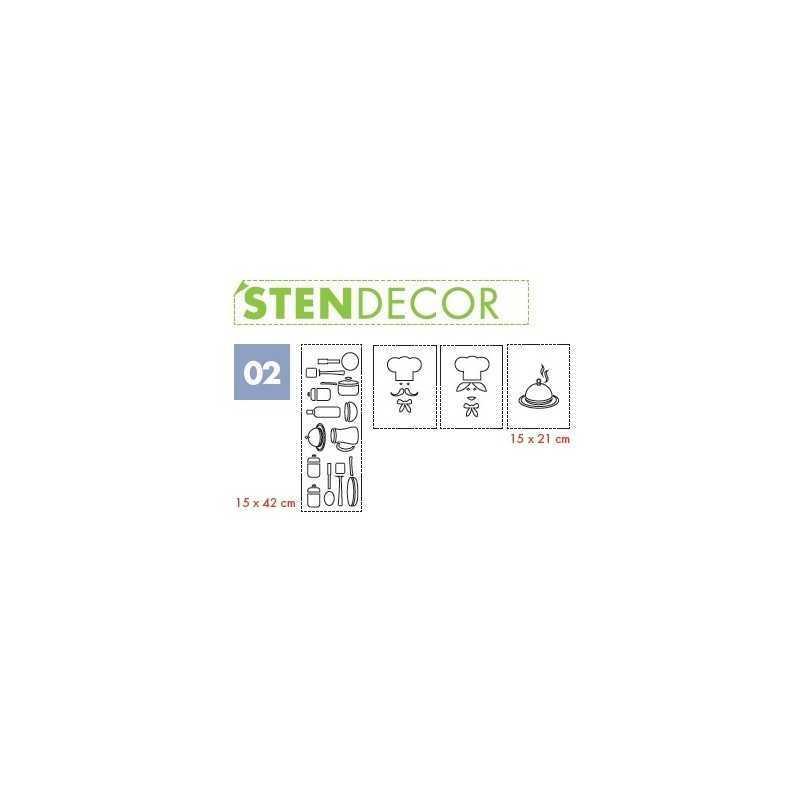 LITOKOL - STENDECOR 02 - SERIE PENTOLE confezione 7pz - a soli 59,80€ su FESEA online - fesea.shop