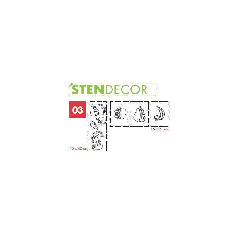 LITOKOL - STENDECOR 03 - SERIE FRUTTA confezione 7pz - a soli 59,80€ su FESEA online - fesea.shop