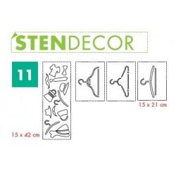 STENDECOR 11 - SERIE APPENDINI confezione 7pz