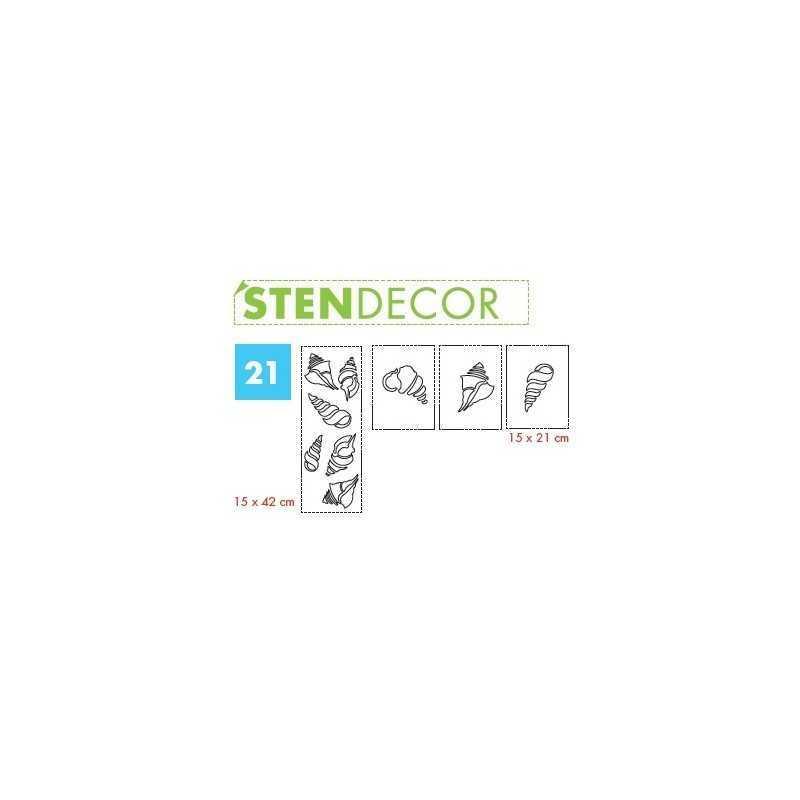 LITOKOL - STENDECOR 21 - SERIE CONCHIGLIE confezione 7pz - a soli 59,80€ su FESEA online - fesea.shop