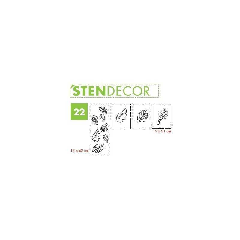 LITOKOL - STENDECOR 22 - SERIE FOGLIE confezione 7pz - a soli 59,80€ su FESEA online - fesea.shop