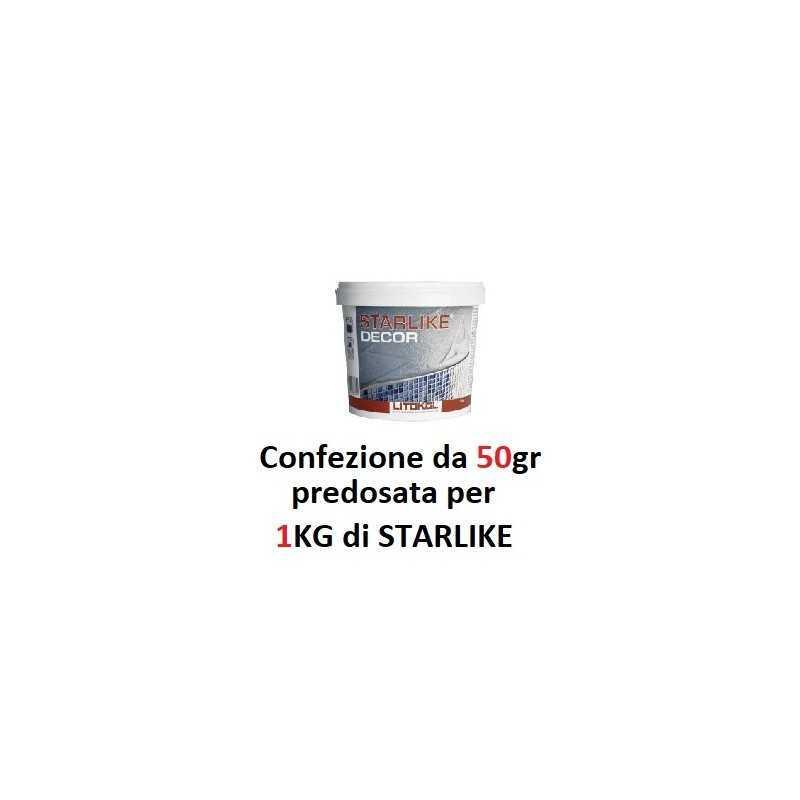 LITOKOL - STARLIKE DECOR da 50gr per STARLIKE da 1Kg - a soli 10,70€ su FESEA online - fesea.shop