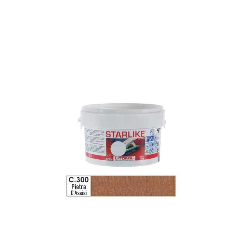 LITOKOL - STARLIKE® C.300 kg.1 Pietra D'Assisi - a soli 19,00€ su FESEA online - fesea.shop