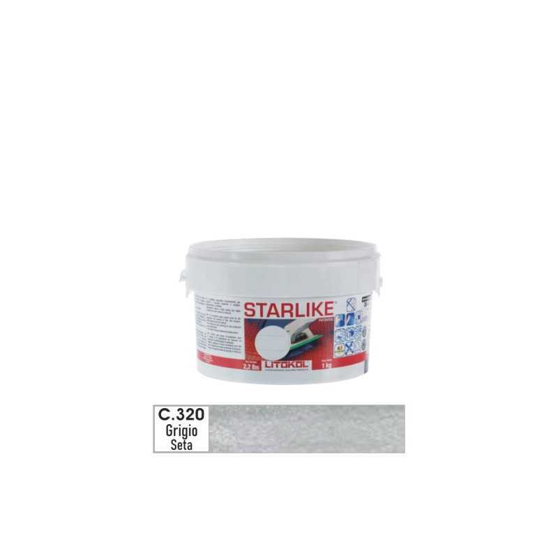 LITOKOL - STARLIKE® C.320 kg.1 Grigio Seta - a soli 19,00€ su FESEA online - fesea.shop