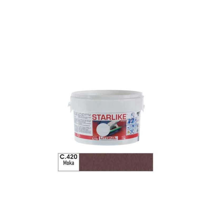 LITOKOL - STARLIKE® C.420 kg.1 Moka - a soli 19,00€ su FESEA online - fesea.shop