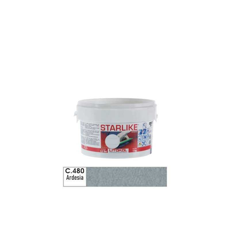 LITOKOL - STARLIKE® C.480 kg.1 Ardesia - a soli 19,00€ su FESEA online - fesea.shop