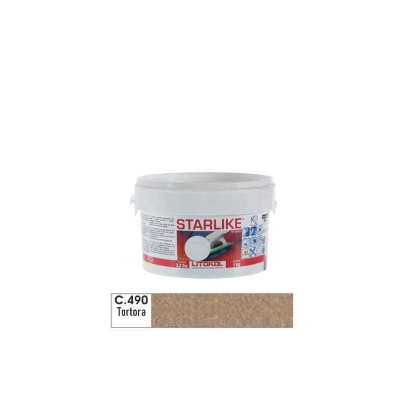 LITOKOL - STARLIKE® C.490 kg.1 Tortora - a soli 19,00€ su FESEA online - fesea.shop