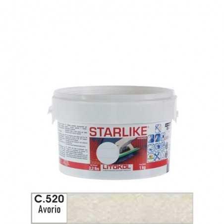 LITOKOL - STARLIKE® C.520 kg.1 AVORIO - a soli 19,00€ su FESEA online - fesea.shop