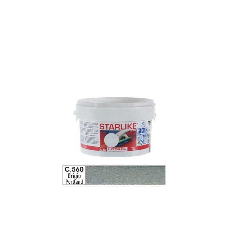 LITOKOL - STARLIKE® C.560 kg.1 Grigio Portland - a soli 19,00€ su FESEA online - fesea.shop