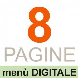 08 Pagine (menù DIGITALE)
