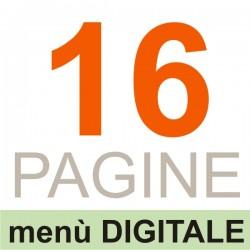 16 Pagine (menù DIGITALE)