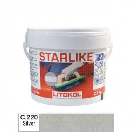LITOKOL - STARLIKE® C.220 kg.2,5 Silver - a soli 33,00€ su FESEA online - fesea.shop