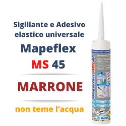 MAPEI - Mapeflex MS 45 MARRONE 300ml - a soli 8,90€ su FESEA online - fesea.shop