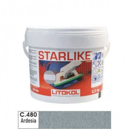 LITOKOL - STARLIKE® C.480 kg.2,5 Ardesia - a soli 33,00€ su FESEA online - fesea.shop