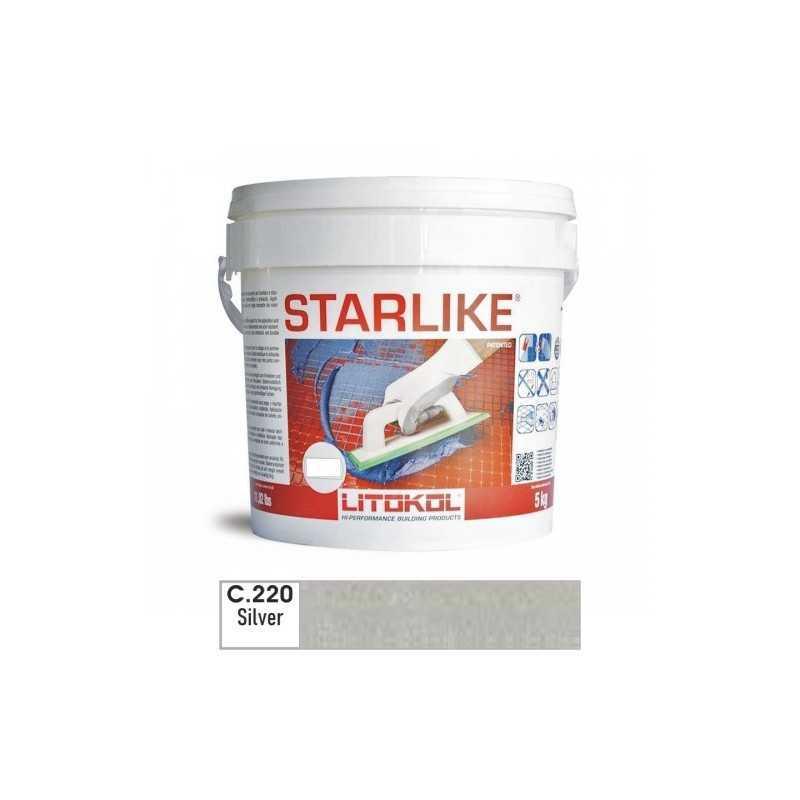 LITOKOL - STARLIKE® C.220 kg.5 Silver - a soli 57,00€ su FESEA online - fesea.shop