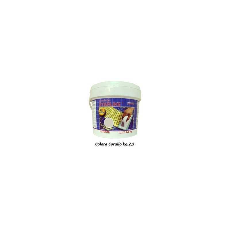 LITOKOL - STARLIKE® C.230 kg.2,5 Corallo - a soli 34,50€ su FESEA online - fesea.shop