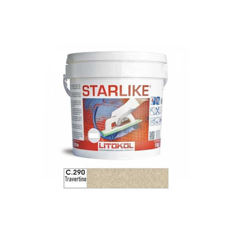LITOKOL - STARLIKE® C.290 kg.5 Travertino - a soli 57,00€ su FESEA online - fesea.shop