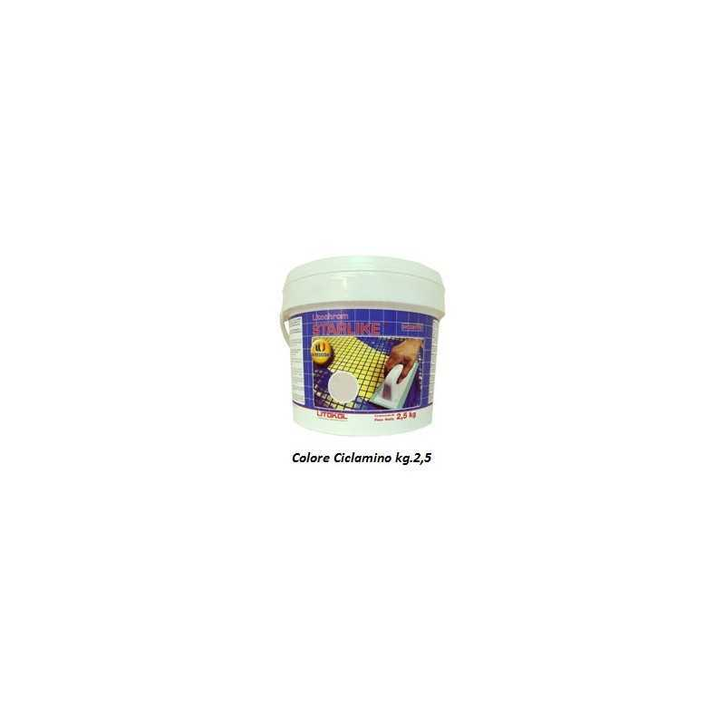 LITOKOL - STARLIKE® C.370 kg.2,5 Ciclamino - a soli 34,50€ su FESEA online - fesea.shop