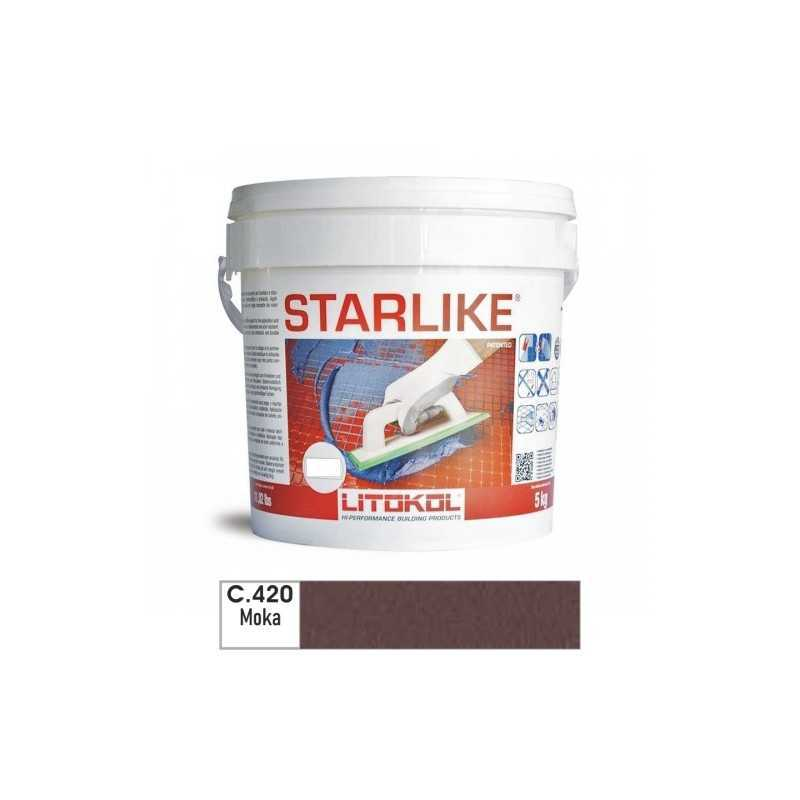 LITOKOL - STARLIKE® C.420 kg.5 Moka - a soli 57,00€ su FESEA online - fesea.shop