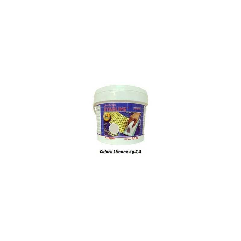 LITOKOL - STARLIKE® C.430 kg.2,5 Limone - a soli 34,50€ su FESEA online - fesea.shop