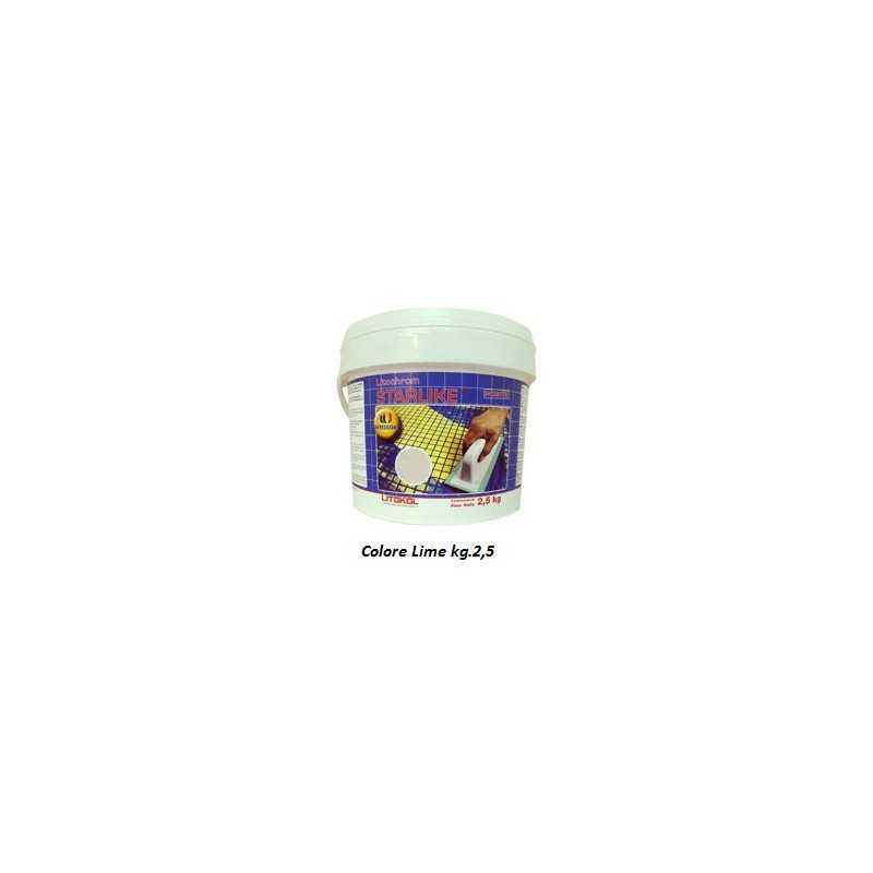 LITOKOL - STARLIKE® C.440 kg.2,5 Lime - a soli 34,50€ su FESEA online - fesea.shop