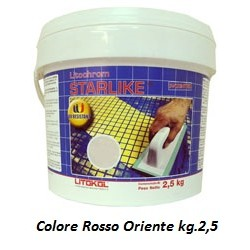 STARLIKE® C.450 kg.2,5 Rosso Oriente