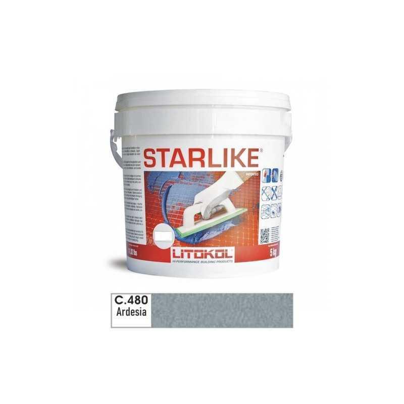 LITOKOL - STARLIKE® C.480 kg.5 Ardesia - a soli 57,00€ su FESEA online - fesea.shop
