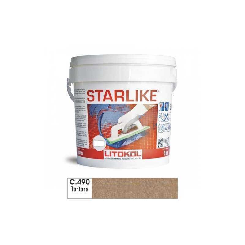 LITOKOL - STARLIKE® C.490 kg.5 Tortora - a soli 57,00€ su FESEA online - fesea.shop