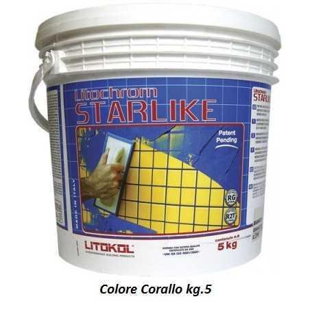 LITOKOL - STARLIKE® C.230 kg.5 Corallo - a soli 60,00€ su FESEA online - fesea.shop
