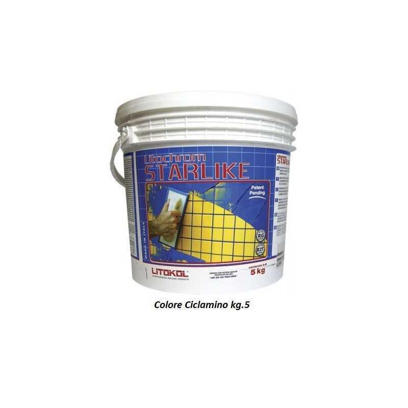 LITOKOL - STARLIKE® C.370 kg.5 Ciclamino - a soli 60,00€ su FESEA online - fesea.shop