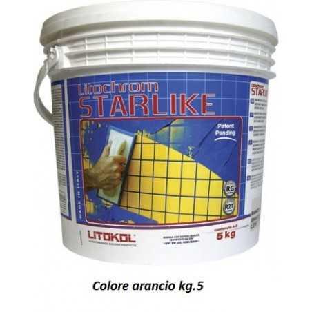 LITOKOL - STARLIKE® C.460 kg.5 Arancio - a soli 60,00€ su FESEA online - fesea.shop
