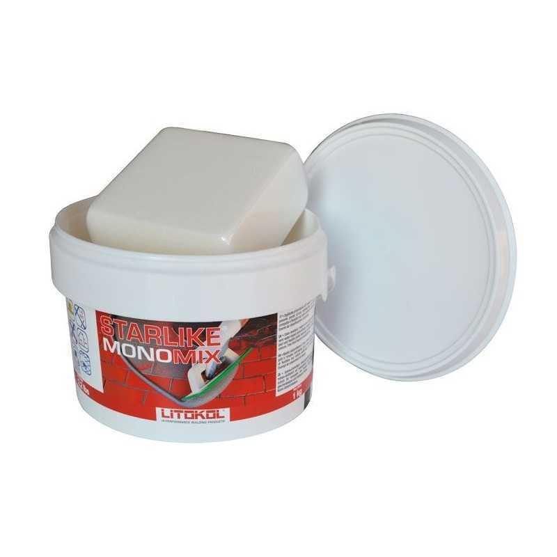 LITOKOL - STARLIKE® MONOMIX C.420 da 1kg MOKA - a soli 16,90€ su FESEA online - fesea.shop