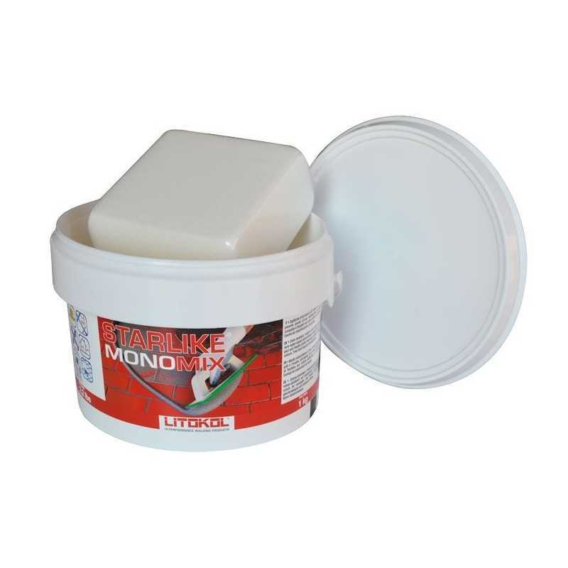 LITOKOL - STARLIKE® MONOMIX C.490 da 1kg TORTORA - a soli 16,90€ su FESEA online - fesea.shop